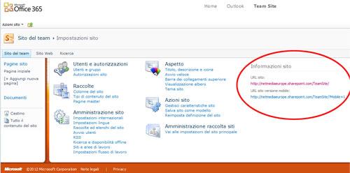Informazioni-sito-team