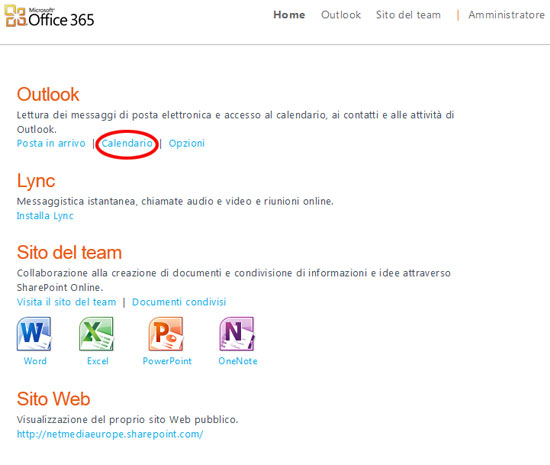 Homepage-calendario-office