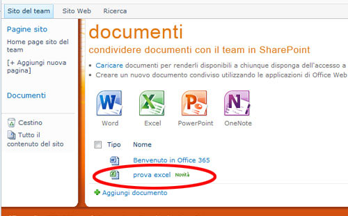 Nuovo-documento-excel-web-app